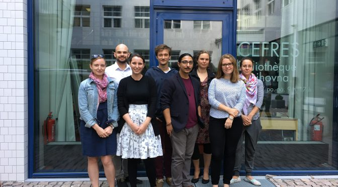 2018 Young Researcher Fellowships at CEFRES (France & Visegrad Countries)