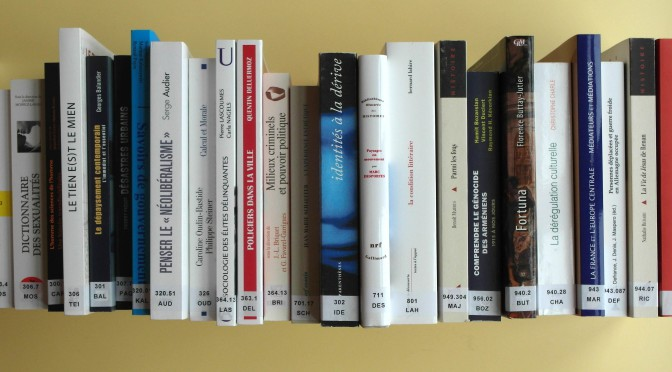 Acquisitions de la bibliothèque – novembre 2015