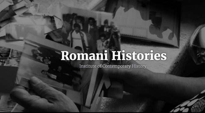 CFP: Tracing the Legacies of the Roma Genocide: Families as Transmitters of Experience and Memory