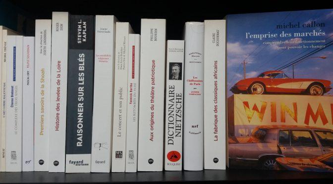 Acquisitions de la bibliothèque – février 2018